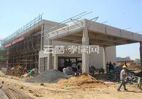 恒凯首府9月工程进度:部分楼栋地基填土中