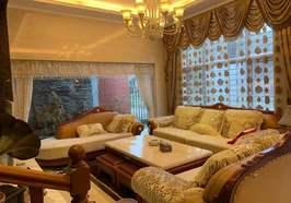 胡场西郊庄园别墅,环境优美,全屋大品牌,豪华装修接近100万,拎包入住,诚意出售!