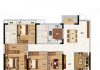 春溪集142m²户型 理想四房 予生活Plus+阔景宽居体验