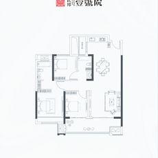 民邦·壹號院H 3号/4号楼户型户型图