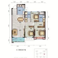 荣怀·及第世家E地块C-1户型图