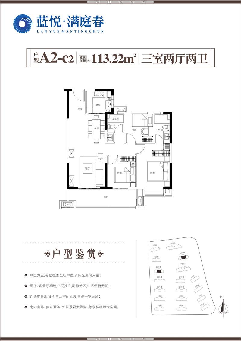 蓝悦·满庭春-A2-c2户型