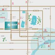 首衡城-华中国际食品产业新城区位图